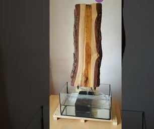Wood and Water Fountain