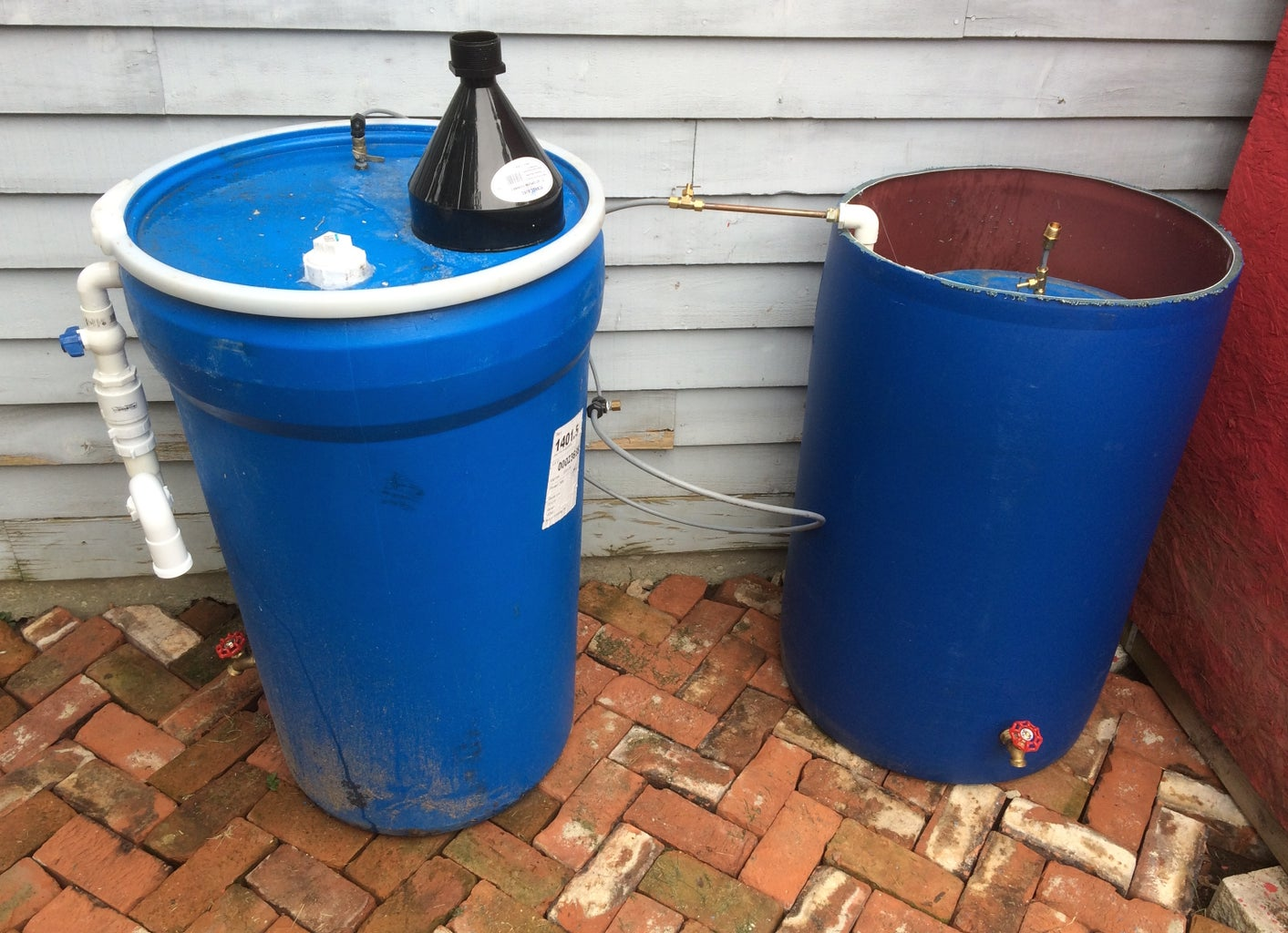 Connect the Digester to the Collector and Feed the Digester