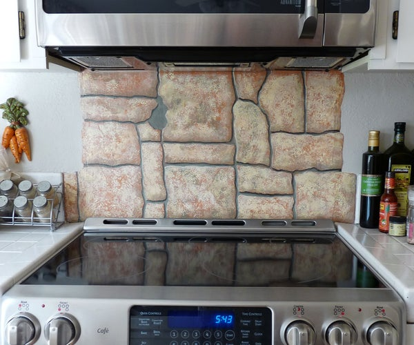 Faux Stone Painting