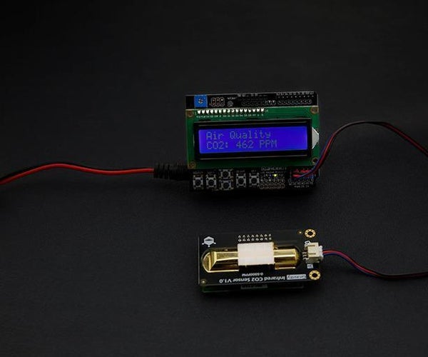 Interfacing Gravity Infrared CO2 Sensor With Arduino