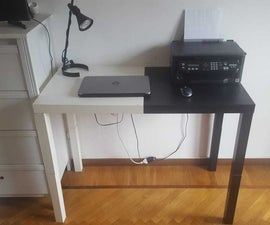 Temporary Desk for Smart Working