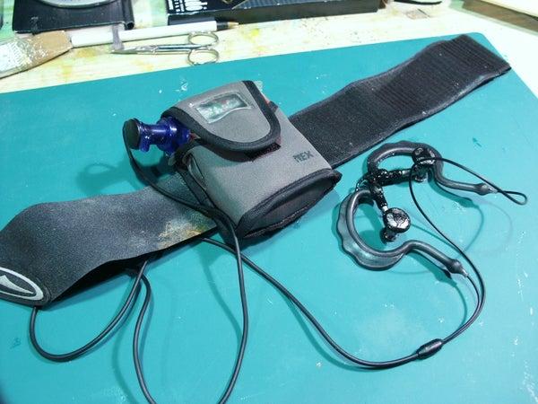 Waterproof Mp3 Player & Headphones