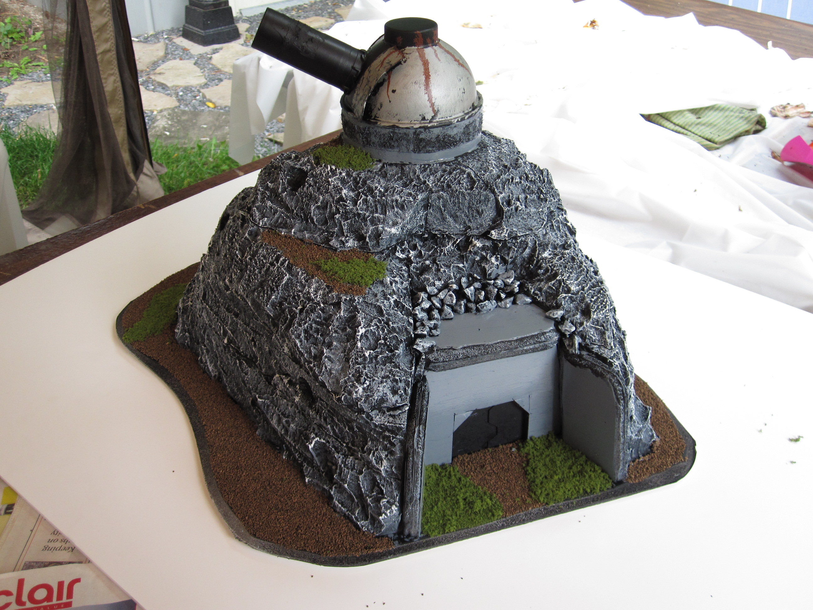 Build Mini War Gaming Bunker Hill -Free