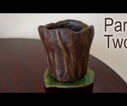 Part Two - Make A Planter For Concrete Casting - Preparation For Molding
