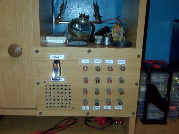 Shelf Panel Power Supply