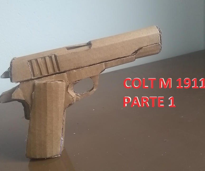How to Make Colt M 1911 From Cardboard