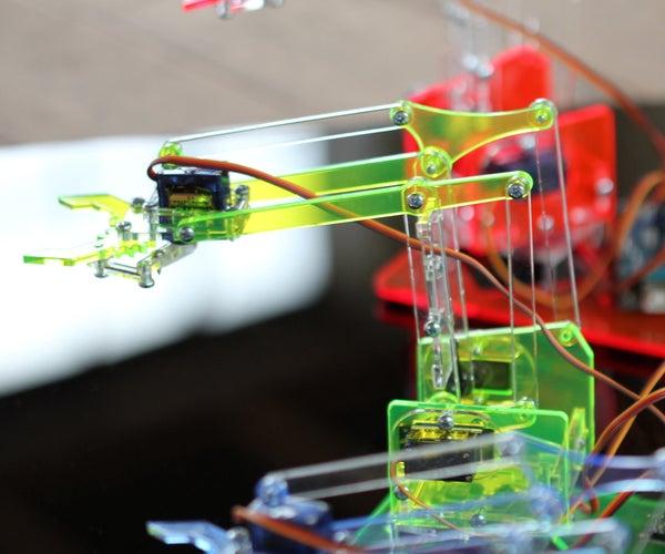 MeArm - Build a Small Hackable Robot Arm V0.3