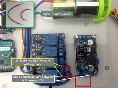 Relay Wiring - Power (Negative)