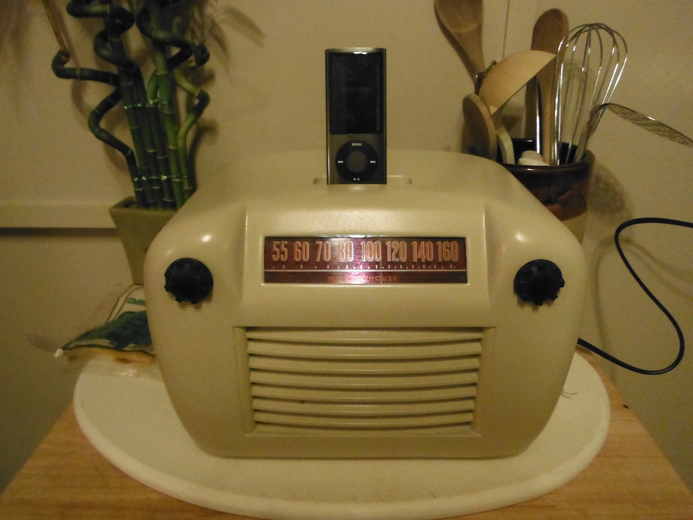 Plug It In, Turn It On, and Blast Your IPod!