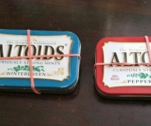 Mini Altoid Survival Tin