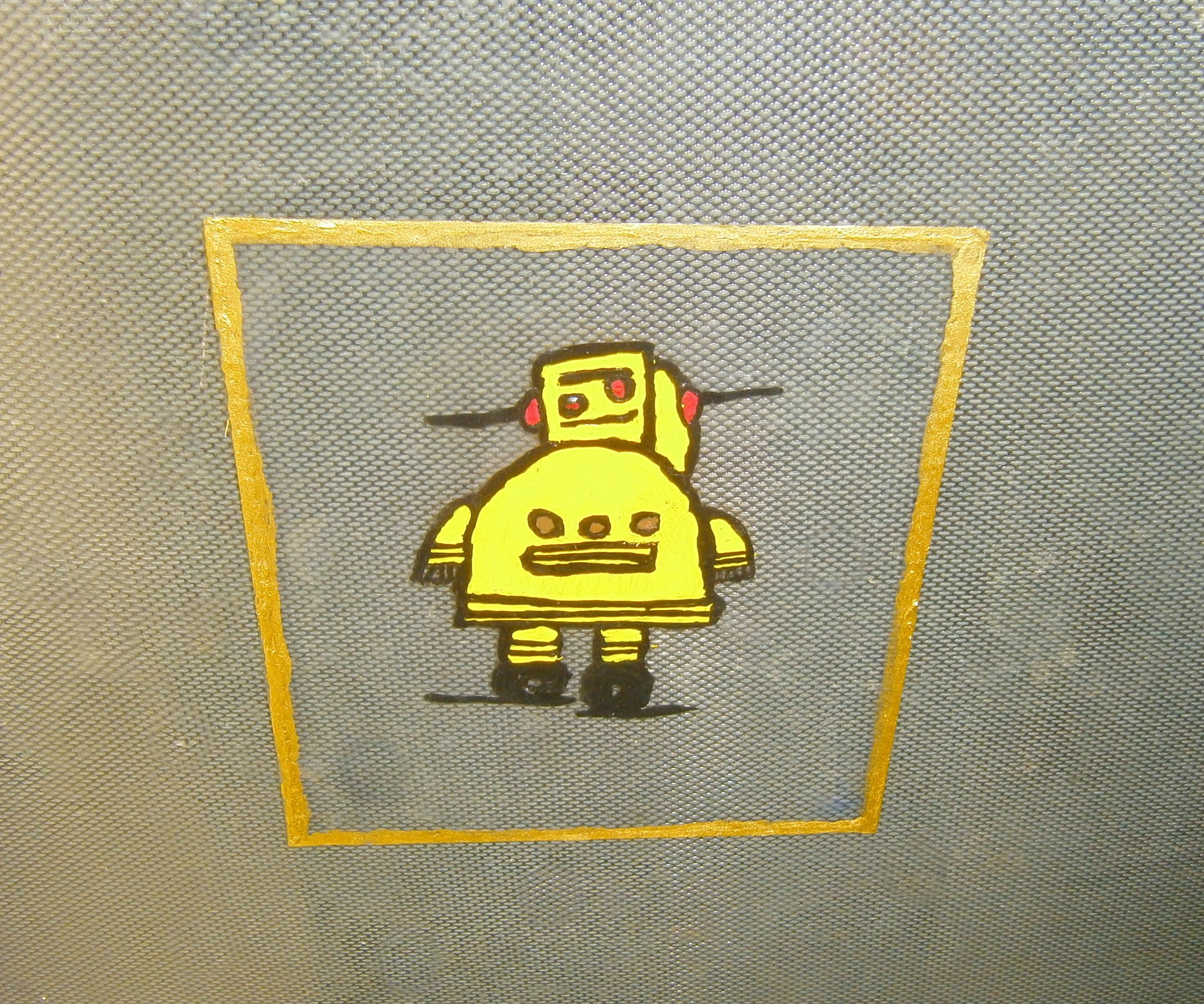 Instructables Robot Static Window Cling