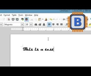 How to Change the Default Font in LibreOffice Writer and Calc