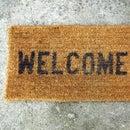 Texting Doormat with Intel Edison
