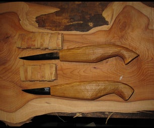 How to Design and Make a Wood Carving Knife