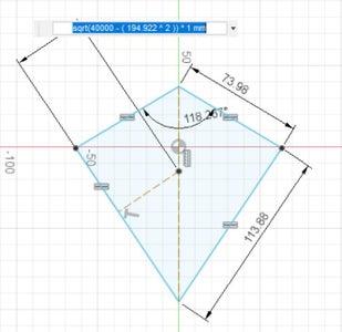 Modelling a Deltoidal Hexecontahedron