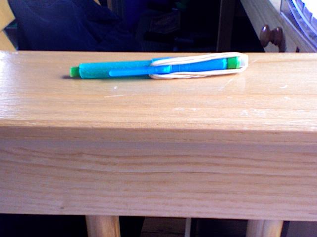 Ultimate Rubber-Band Powered Pen Gun!