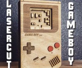 激光切割Gameboy.