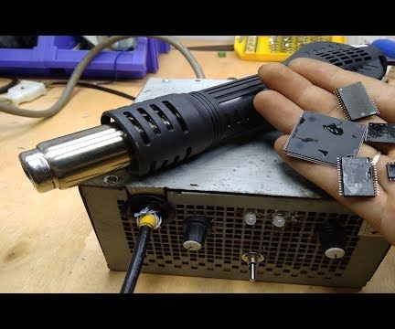 Soldering Rework Station Hot Air Gun