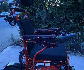 Wheelchair LED Sleeves