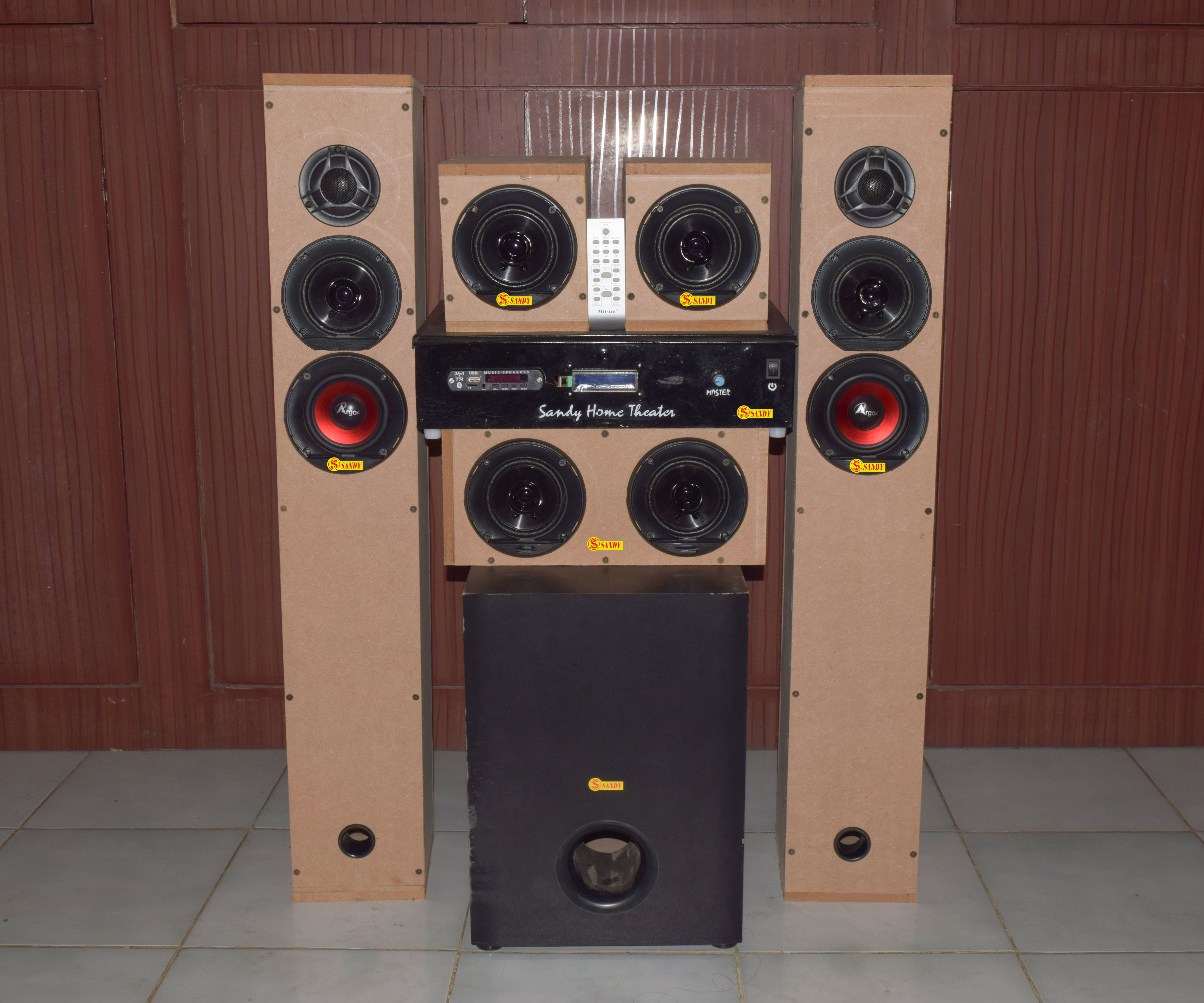 DIY 5.1 Home Theater System