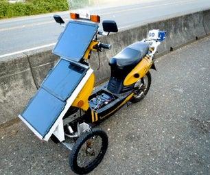 Solar Electric Trike