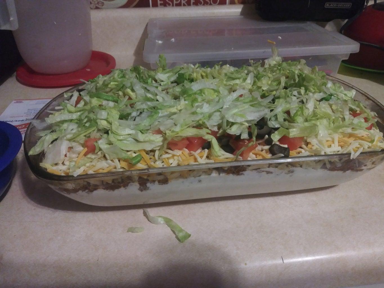 Simple Tasty Taco Dip Recipe