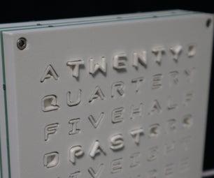 8x8 Haptic Wordclock