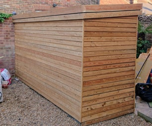 Contemporary Wooden Shed