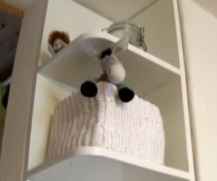 DIY Kitchen Corner Shelf