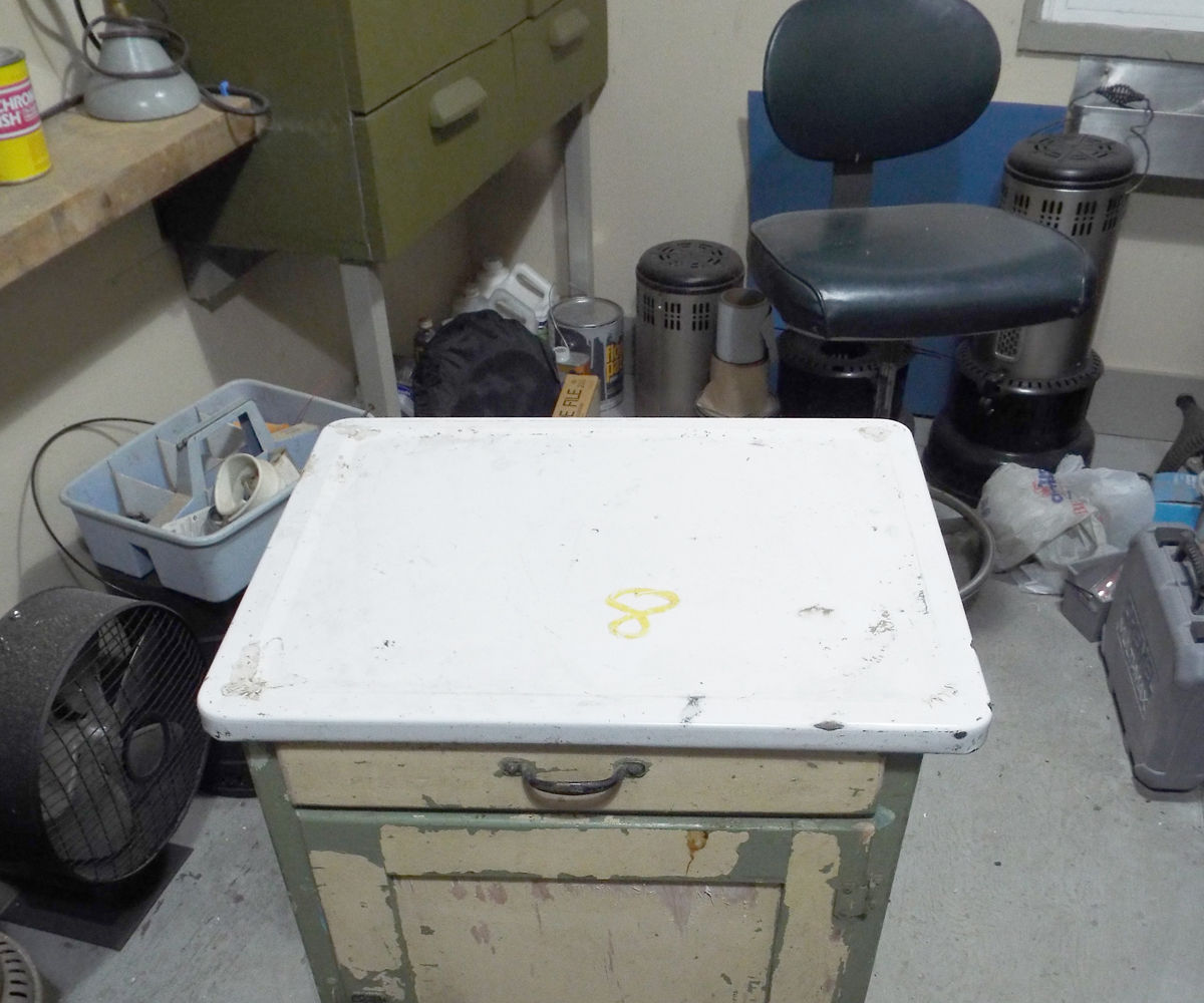 Ugly Green $1 Cabinet