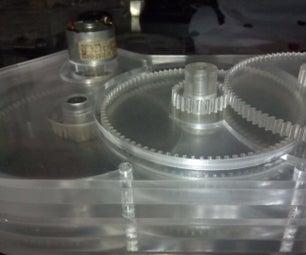 Acrylic Motor Reducer
