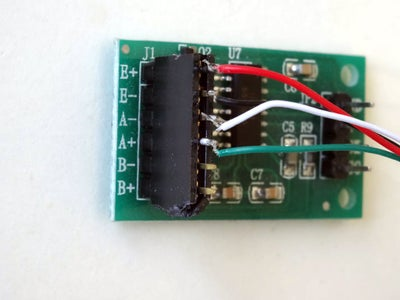 Connect the Load Cell to the HX711 Module