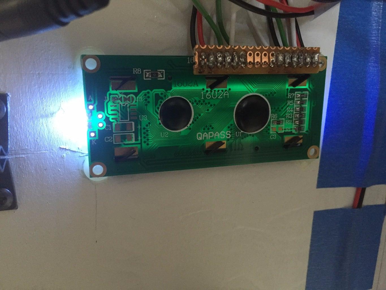 Breadboard Assembly: LCD