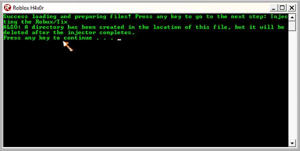 ROBLOX Hacking Tool Prank