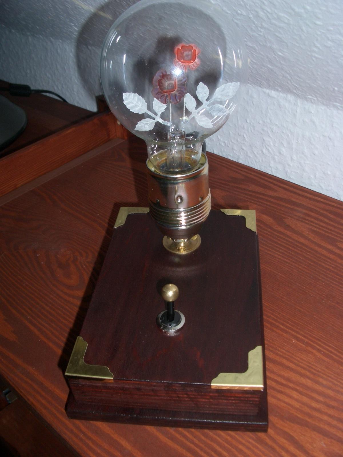 The flower lamp
