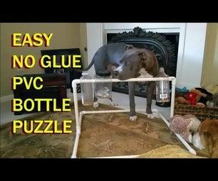 Easy, No Glue, PVC Dog Bottle Puzzle