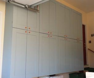 Making Garage Storage Cabinets (I)