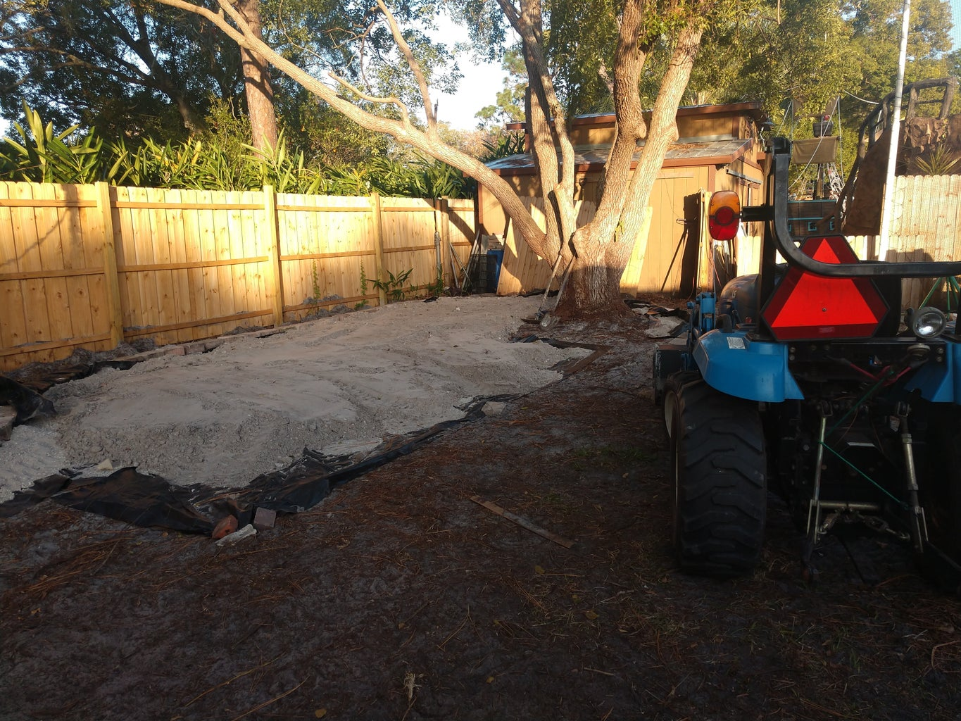 Creating the Golf Putting Green