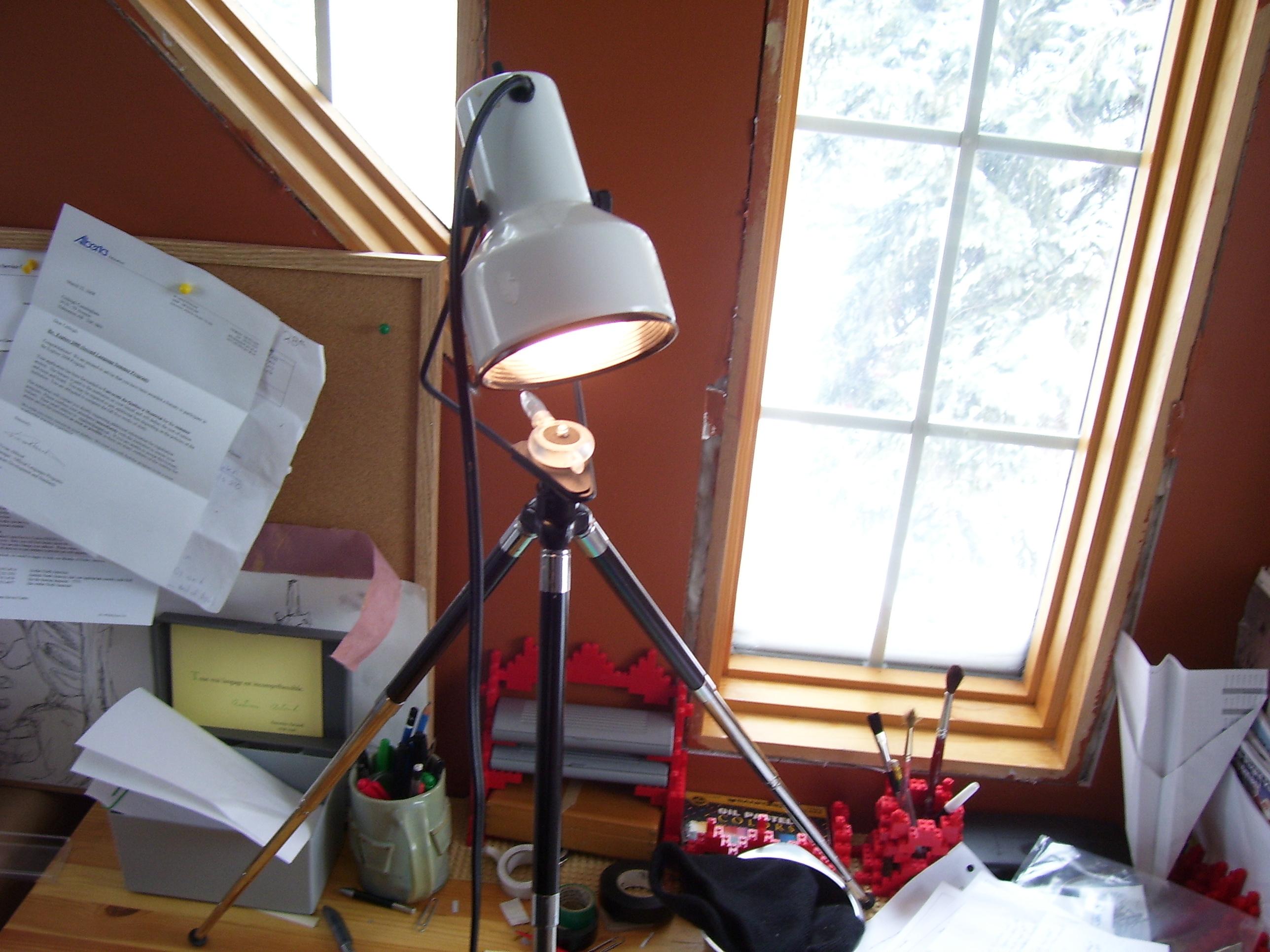 Tripod Desk Lamp