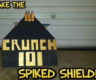 HOW TO MAKE THE SPIKED SHIELD !!!