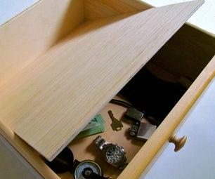 False Bottom Secret Compartment