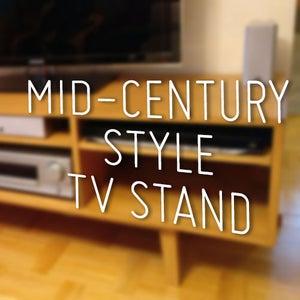Mid-Century Style TV Stand