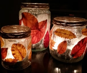 Cozy Fall/autumn Lanterns