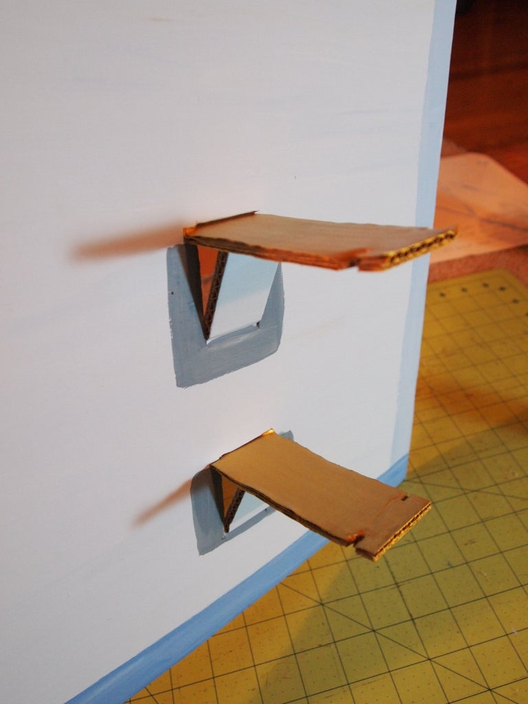 Painting and Mounting Brackets