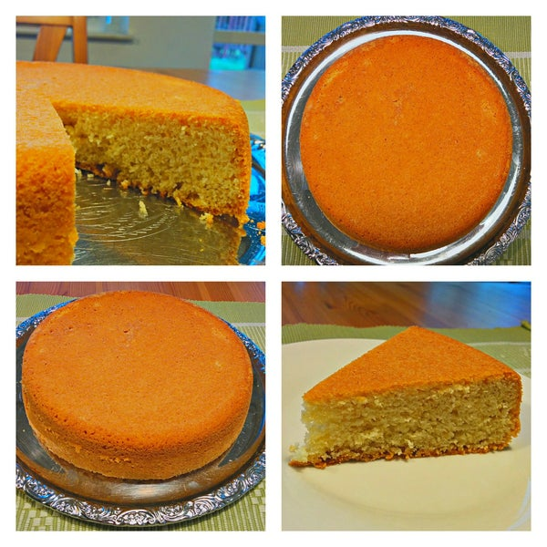 Swedish Sugar Cake / Sockerkaka