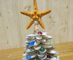 Decorative Shell Christmas Tree