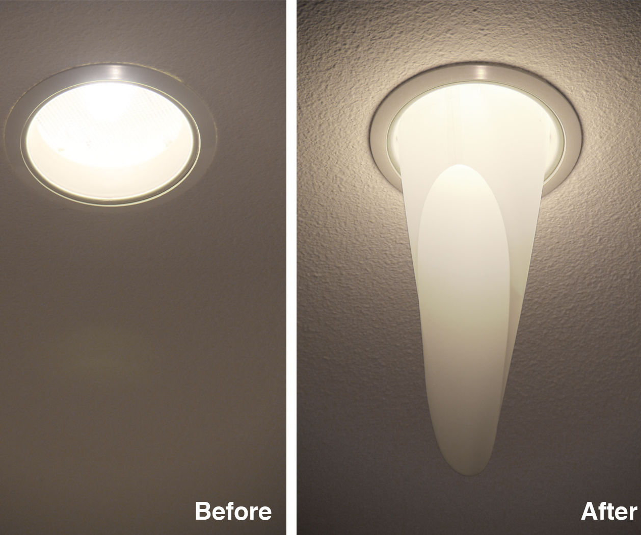 Mylar Light Diffuser For Recessed Ceiling Lights 12 Steps With Pictures Instructables