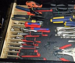 Plier Organizer for Drawer / Organizador De Pinzas