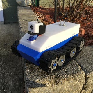 3D Printed Arduino FPV RC Tracked Car With Controller