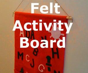 Hanging Felt Activity Board
